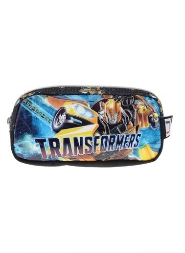 Transformers Kalem Çantası Renkli